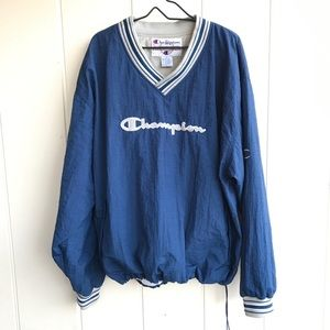 ⭐️90's Vintage Champion Lined Pullover size XL